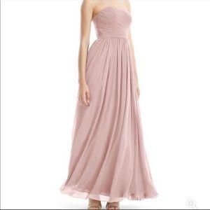 Azazie Jasmine dress dusty rose size 8